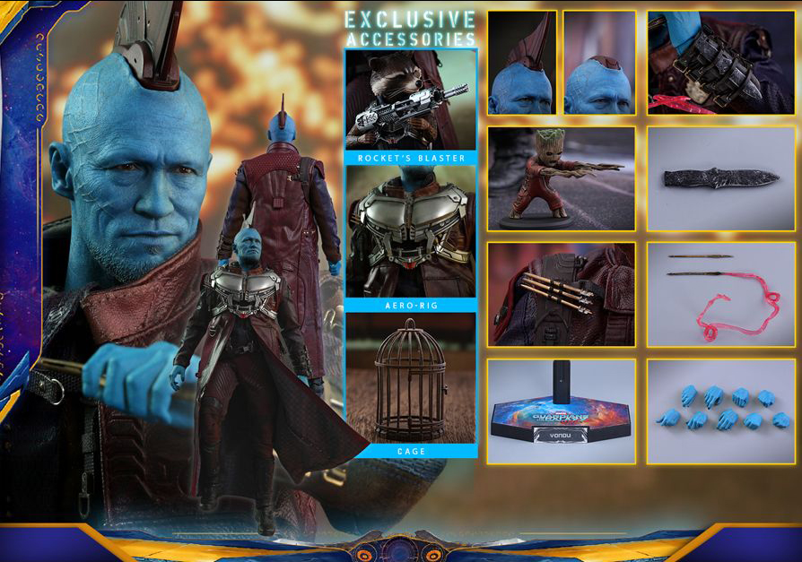 Hot Toys Yondu Udonta Deluxe (contents)