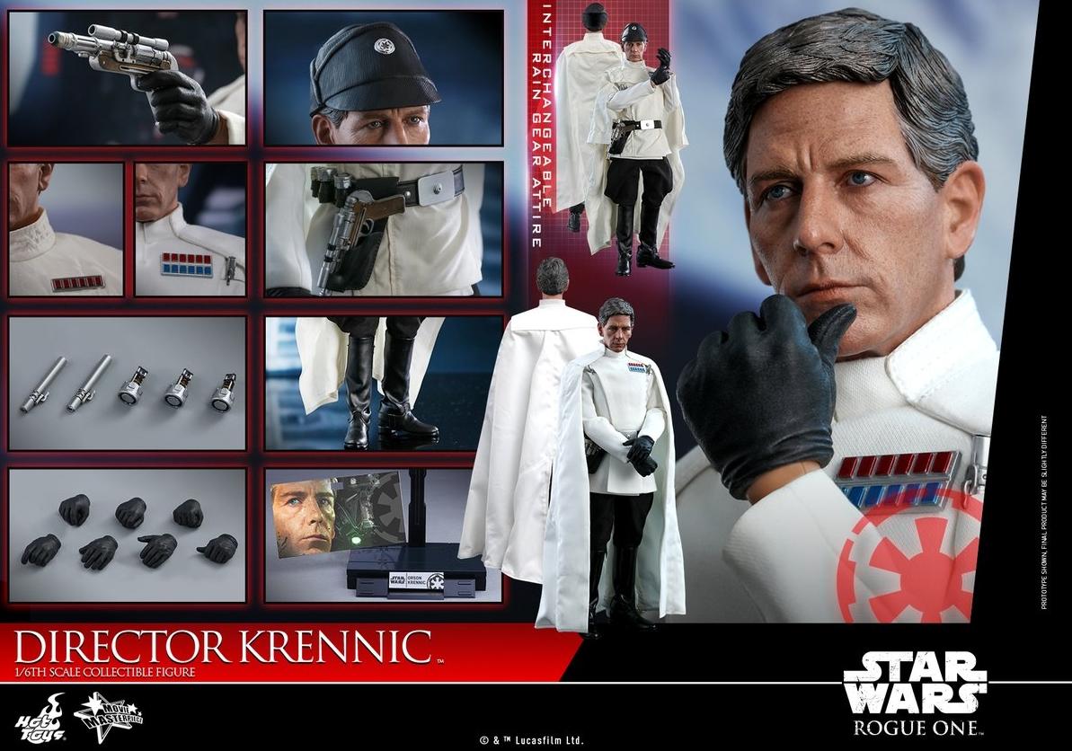 Hot Toys Krennic promo: contents