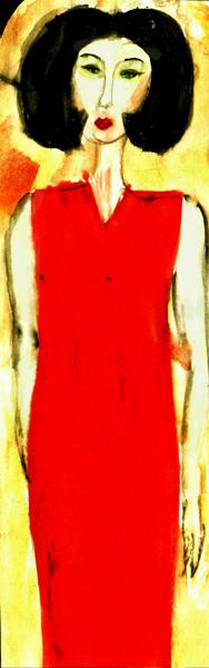 Modigliani girl