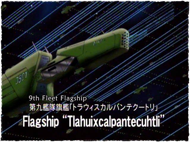 LOGH flagship Tlahuixcalpantecuhtli