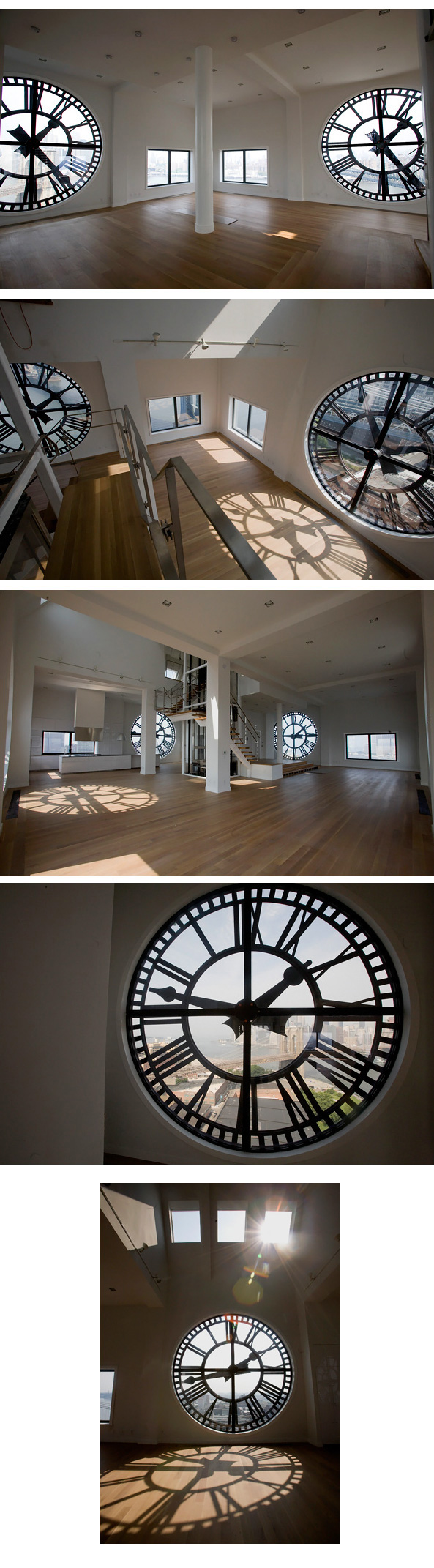 Home with watch clock