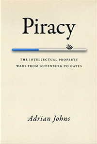 Adrian Johns - Piracy book cover