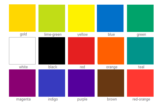 Colours of your career