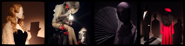 Exhibition of costumes for Federico Fellini films
