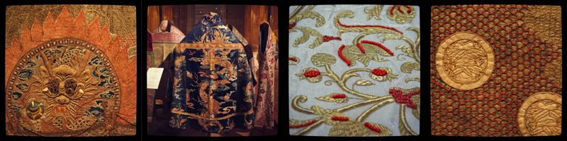 Выставка в Эрмитаже: Текстиль и реставрация