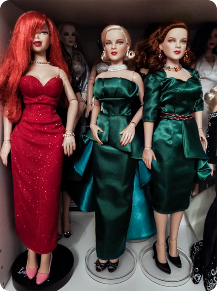 """Sewing: dresses for 17"""" Tonner"""