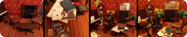 Diorama: flat in progress