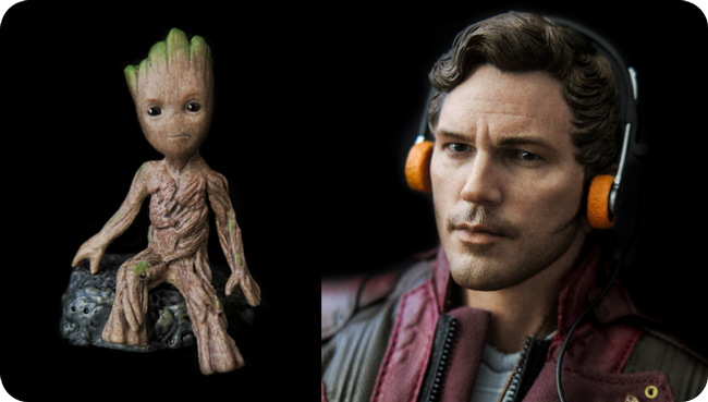 Action figure: Hot Toys Star lord