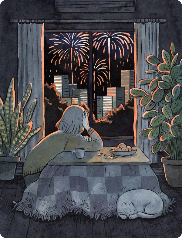 Mood to watch fireworks