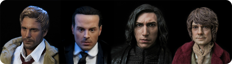 Action figures in January