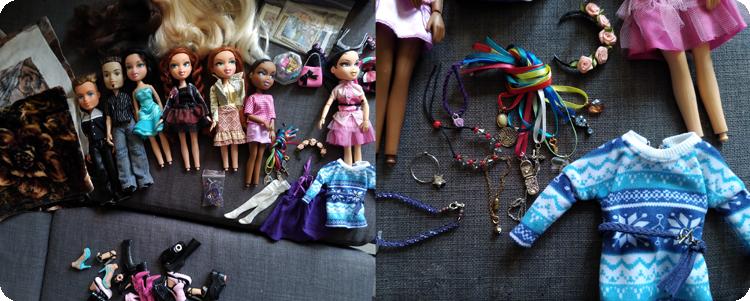 Bratz dolls as a gift