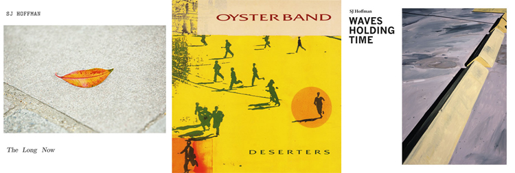 Album covers by SJ Hoffman and Oysterband