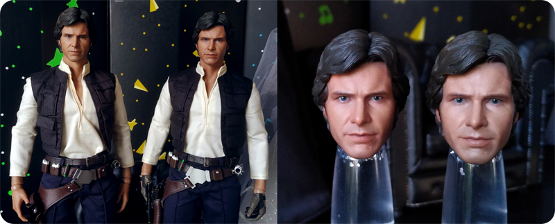 Hot Toys Han Solo differences