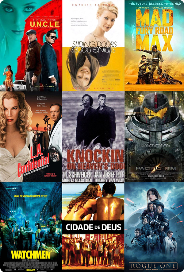 My 9 most re-watched films