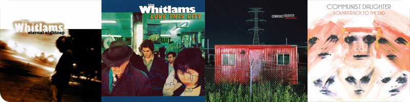 Albums in April 2021: The Whitlams and Communist Daughter