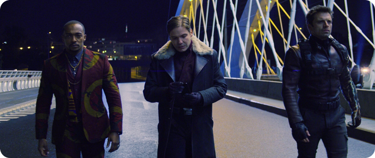 Falcon, Zemo and Winter Soldier