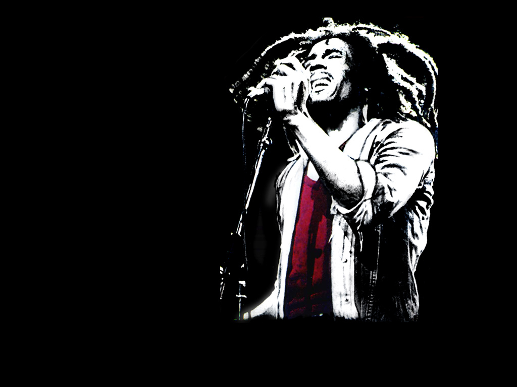 Bob Marley wallpaper - 1024x768
