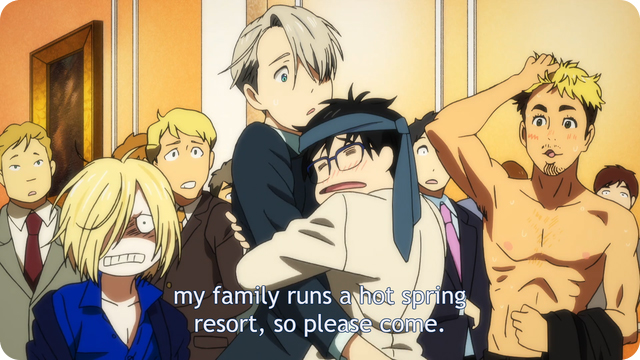 Yuri on Ice: danger onsen