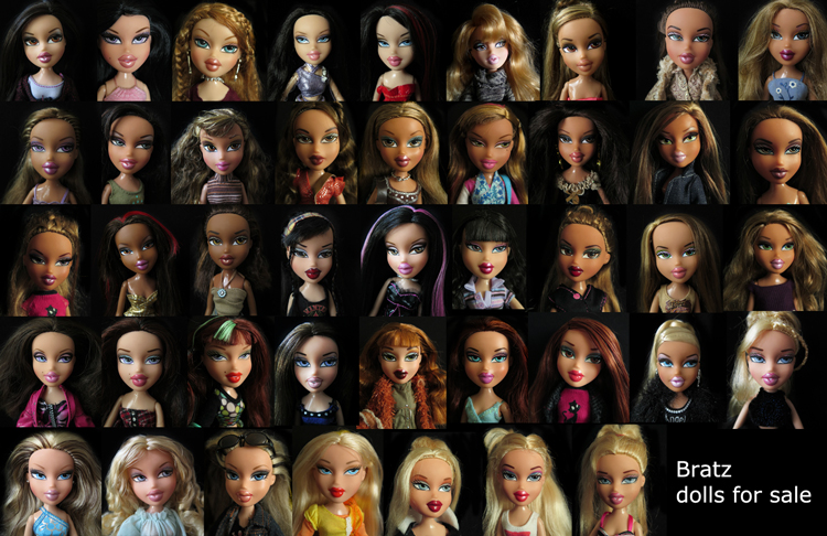 Bratz dolls for sale