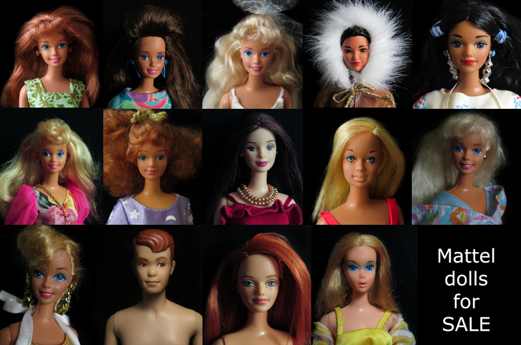 Mattel dolls for sale