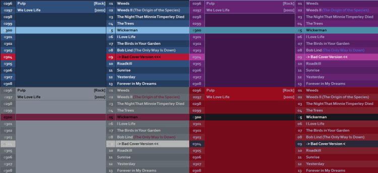 foobar2000: azrael mod new themes