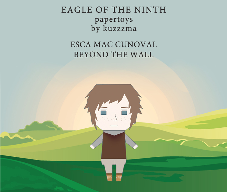 The Eagle of the Ninth paper toys - Free Esca