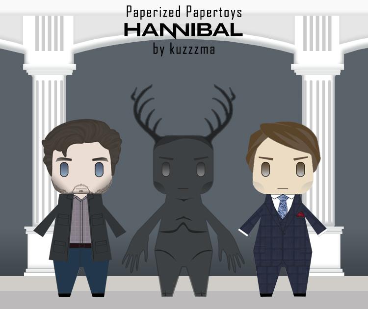 Wendigo, Will Graham and Hannibal Lecter