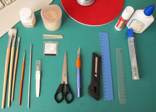 Papercraft: tools