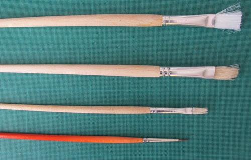 Papercraft: brushes