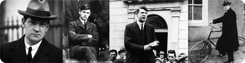 Michael Collins / Mícheál Ó Coileáin (Irish leader) papertoy inspiration