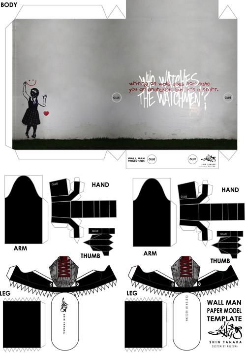 Shin Tanaka Hoophy Watchmen Anarchy custom preview