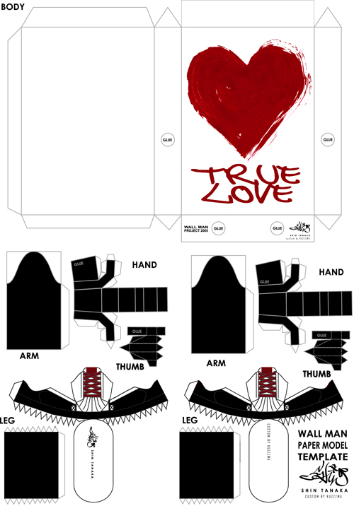 Shin Tanaka Wallman True Love custom preview