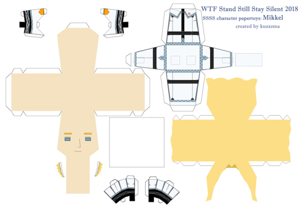 Mikkel Madsen paper toy pattern preview