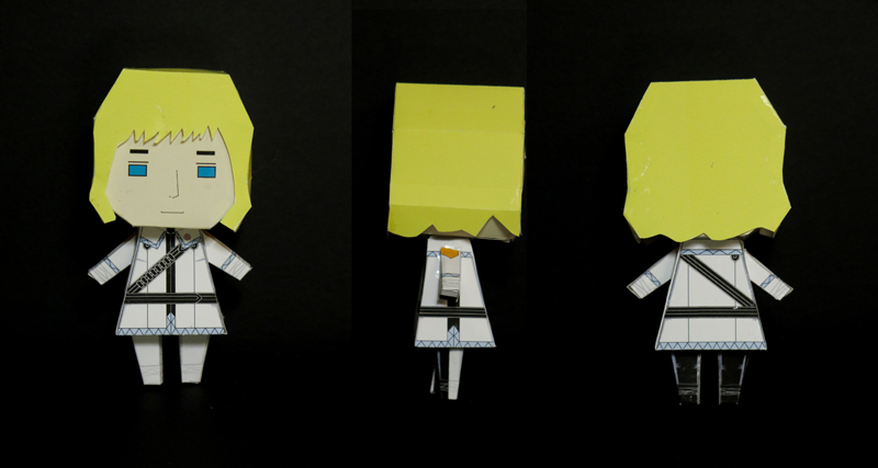 Emil Vasterstom paper toy