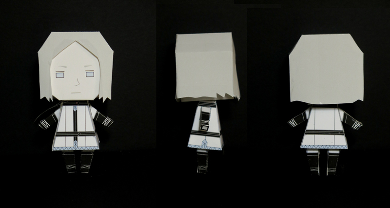 Lalli Hotakainen paper toy