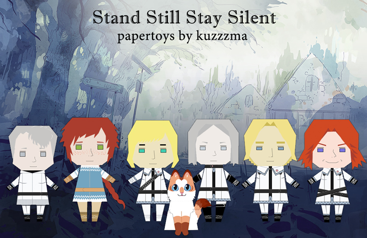 SSSS paper toys preview