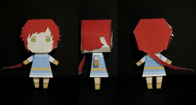 Reynir Arnason paper toy