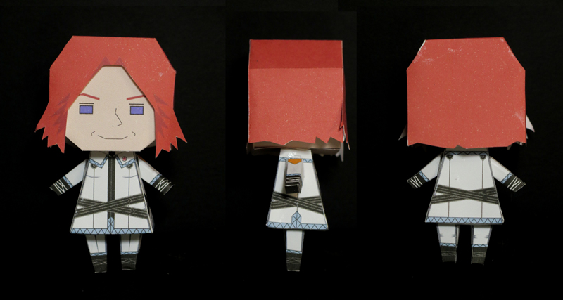 Sigrun Eide paper toy