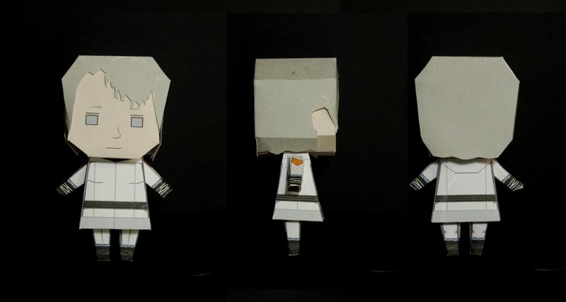 Tuuri Hotakainen paper toy
