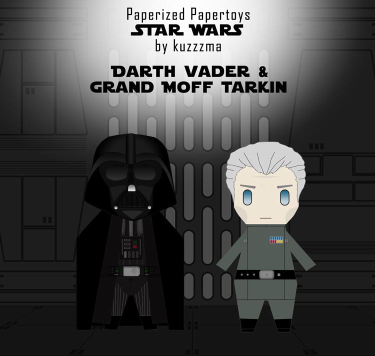 Darth Vader & Tarkin preview