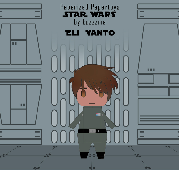 Paperized Star Wars paper toy - Eli Vanto